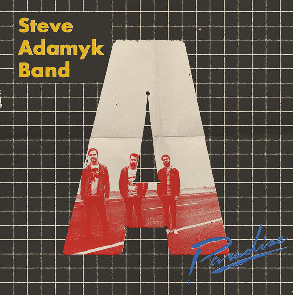Steve Adamyk Band - Paradise - New LP