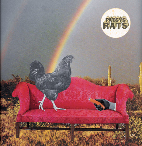 Patsy's Rats - Roundin' Up BLACK VINYL 7""