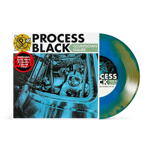 Process Black – Countdown Failure – New 7""