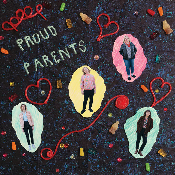 Proud Parents - s/t - LP