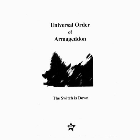 Universal Order Of Armageddon ‎– The Switch Is Down – Used LP
