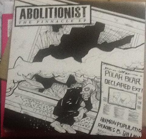 Abolitionist ‎– The Pinnacle EP [BLUE VINYL] - Used 7""