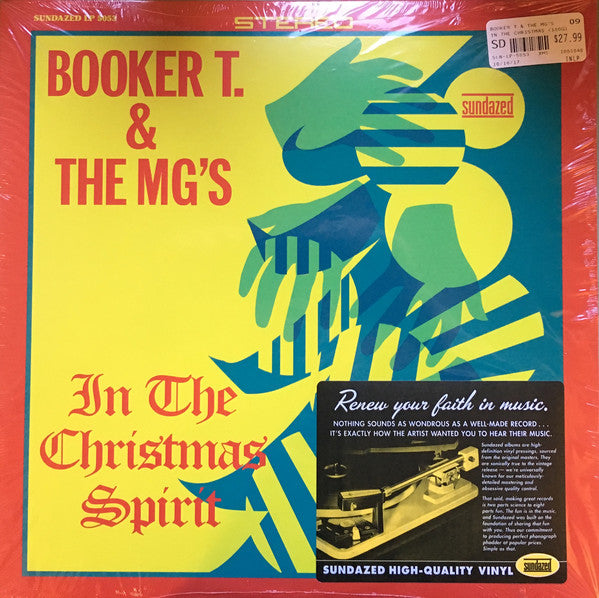 Booker T. & the M.G.s – In the Christmas Spirit – New LP