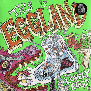 Lovely Eggs, The – This is Eggland [IMPORT ORANGE VINYL] – New LP