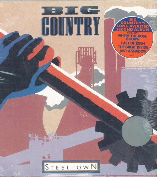 Big Country – Steeltown [SEALED] – Used LP