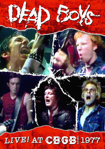 Dead Boys - Live at CBGBs 1977 – Used DVD