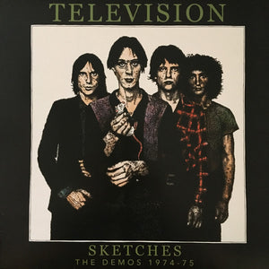 Television – Sketches (The Demos 1974 - 1975) –  Used LP