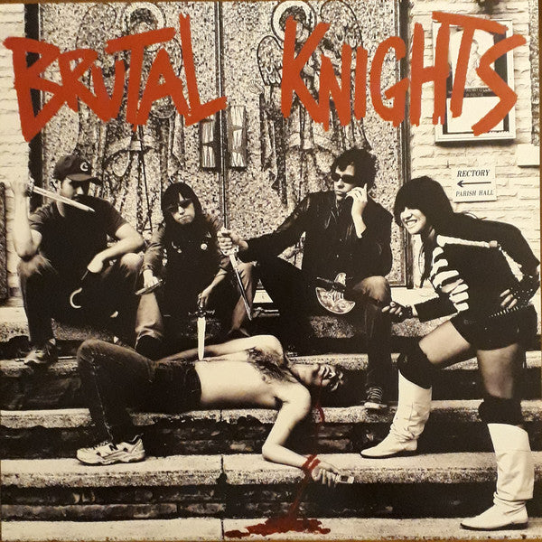 Brutal Knights - The Pleasure is All Thine - Used LP
