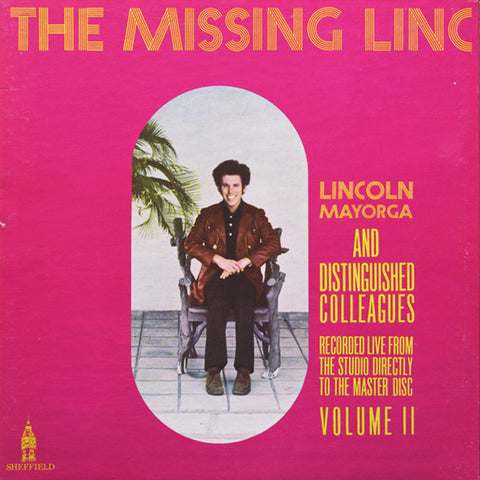 Lincoln Mayorga And Distinguished Colleagues -The Missing Linc - Used LP
