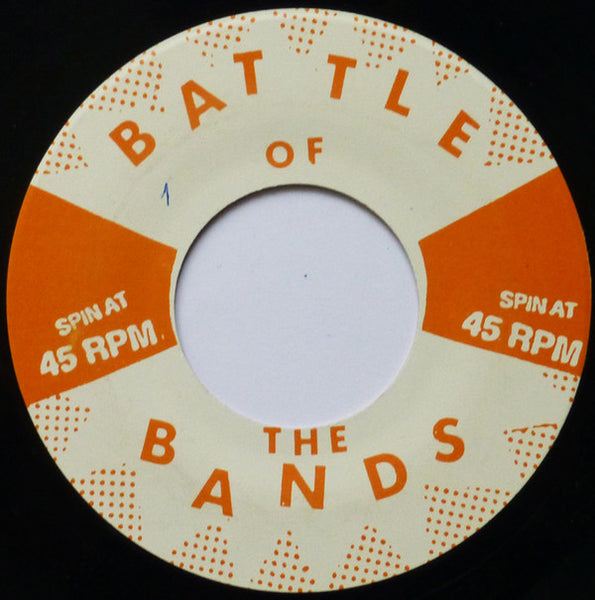"Battle of the Bands - Skinned Teen / The Rondelles / Angora / The Knock-Ups - 7"" - Used"