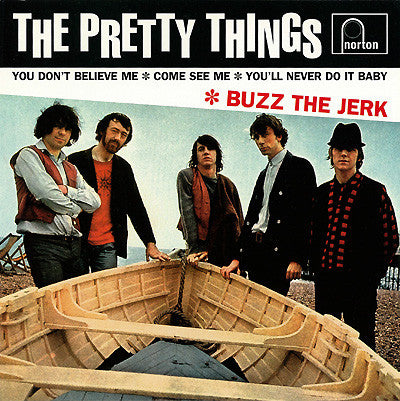 "Pretty Things, The ‎– Buzz The Jerk - 7"" - Used"