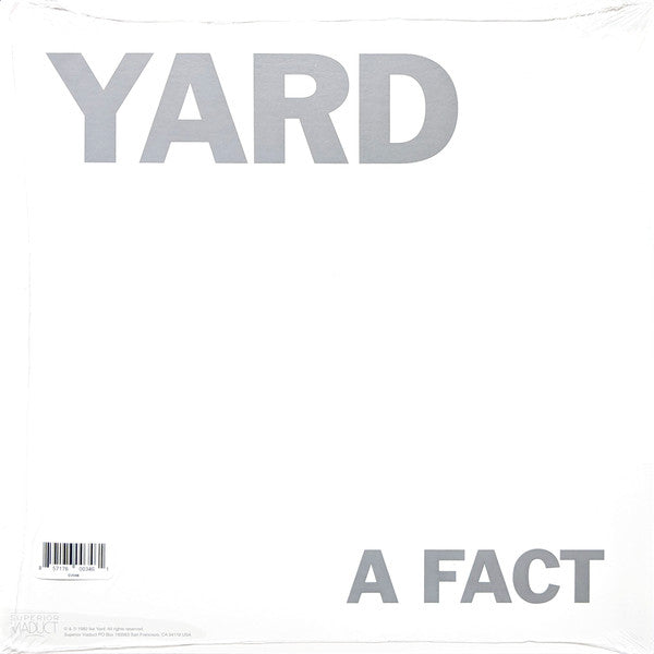 Ike Yard ‎– A Fact a Second – New LP