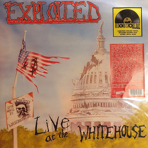 Exploited, The - Live at the White House [RSD IMPORT Color vinyl] - New LP