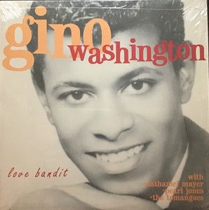Washington, Gino – Love Bandit – New LP