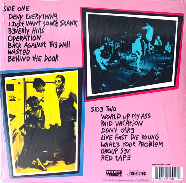 Circle Jerks - Group Sex [Deluxe Edition 40th Anniversary] - New LP