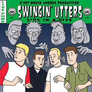 Swingin' Utters ‎– Live In A Dive - 2x LP - Used