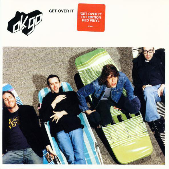 "OK Go ‎– Get Over It - 7"" - Used"