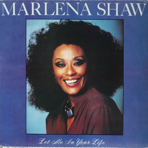 Shaw, Marlena – Let Me In Your Life – Used