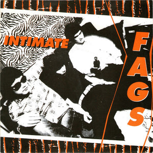 "Intimate Fags - Break The Back - 7"" - Used"