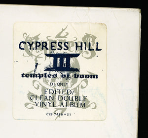 Cypress Hill ‎– III Temples Of Boom- Used LP