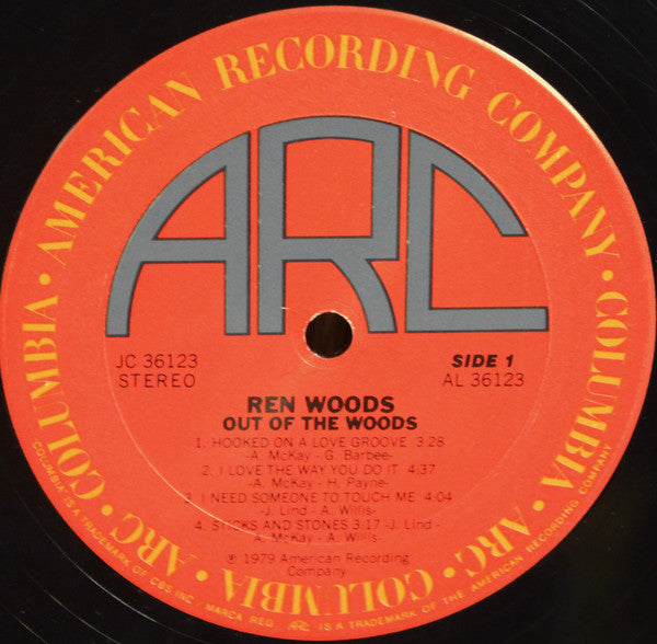 Woods, Ren ‎– Out Of The Woods – Used LP