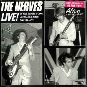 Nerves, The  – Live 1977 [PINK VINYL] - New LP