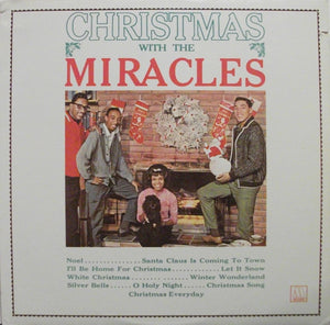 Miracles, The – Christmas with the Miracles – Used LP