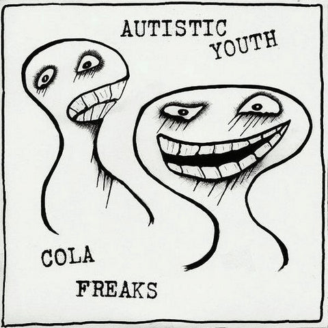 "Autistic Youth / Cola Freaks ‎– SPLIT - 7"" - Used"