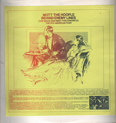 Mott the Hoople – Behind Enemy Lines (Whizz Kidz Meet the Concrete): The 1974 American Tour – Used LP