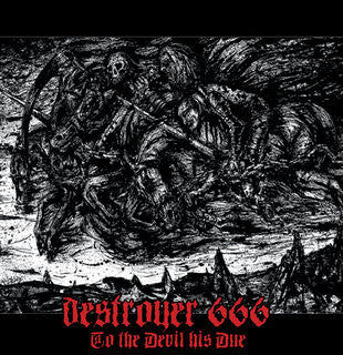 Deströyer 666 ‎– To The Devil His Due - LP - Used