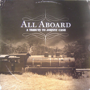 Various Artists ‎– All Aboard: A Tribute To Johnny Cash - LP - Used