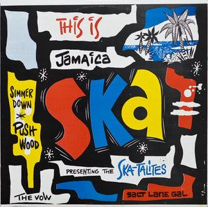Various Artists – This Is Jamaica Ska - Presenting The Ska-Talites – New LP