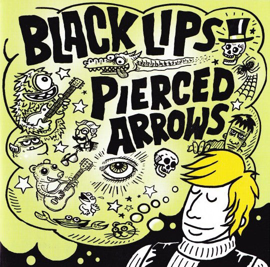 Black Lips / Pierced Arrows - Best Napkin I Ever Had / The Doorway - Used 7""