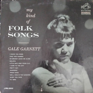Garnett, Gale - My Kind of Folk Songs – Used LP