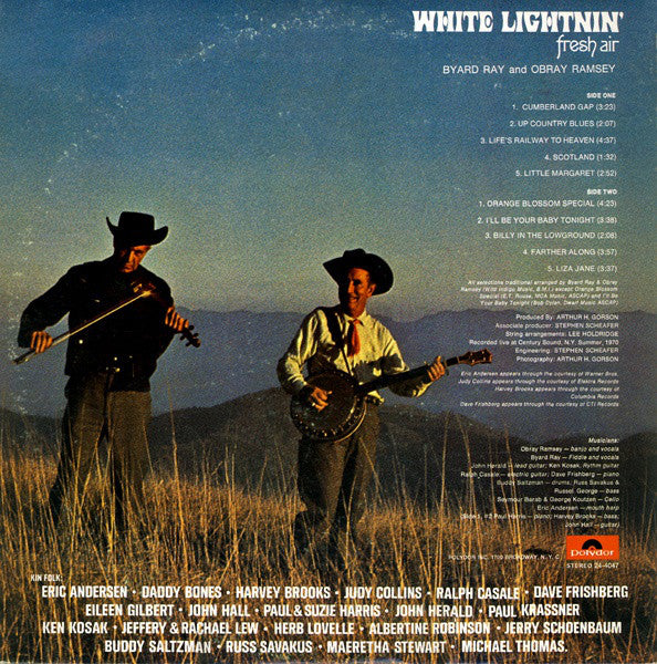 White Lightnin' – Fresh Air – Used LP