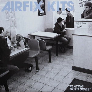 Airfix Kits ‎- Playing Both Sides (blue vinyl)- Used 7""