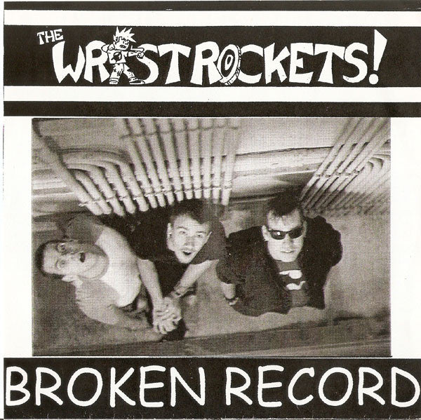 "Wristrockets, The - Broken Record - 7"" - Used"