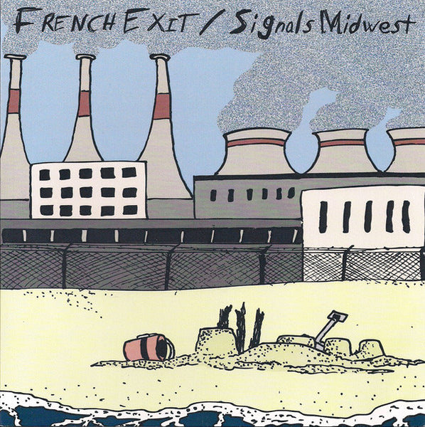 French Exit / Signals Midwest ‎– split - Used 7""