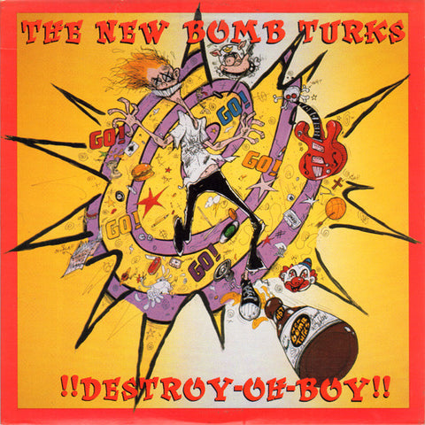 New Bomb Turks - !!Destroy Oh Boy!! – Used LP