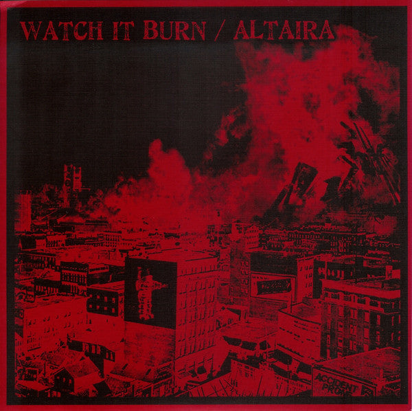 "Watch It Burn / Altaira ‎– Watch It Burn / Altaira - 7"" - Used"