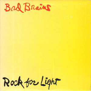 Bad Brains - Rock For Light – New LP