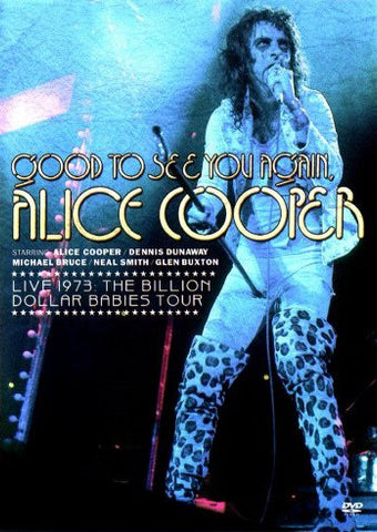 Alice Cooper - Good to See You Again – Used DVD