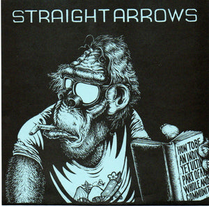 "Straight Arrows ‎– Never Enough - 7"" - Used"
