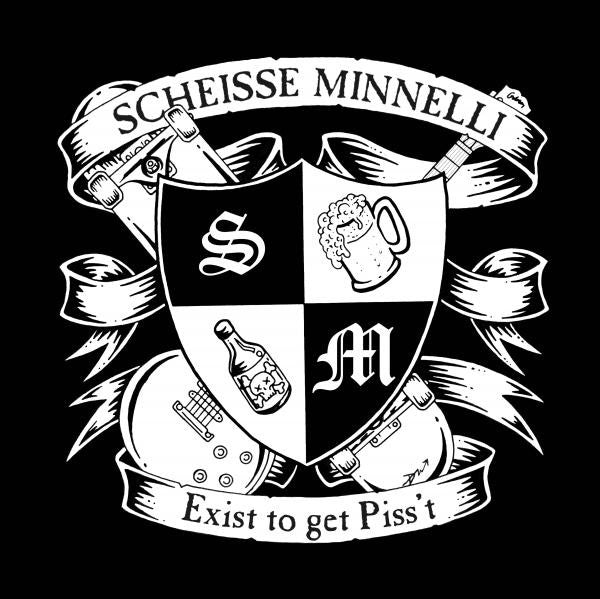 Scheisse Minnelli ‎– Exist To Get Piss't - LP - Used