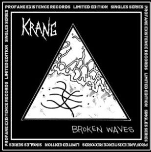 "Krang ‎– Broken Waves - 7"" - Used"