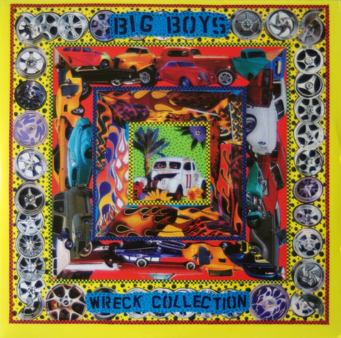 Big Boys - Wreck Collection (2xLPs green/purple) - Used LP