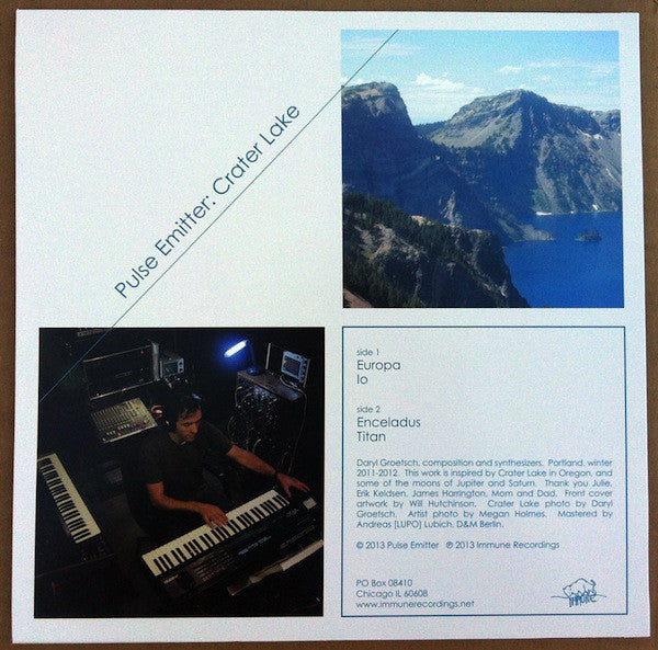 Pulse Emitter - Crater Lake - New LP