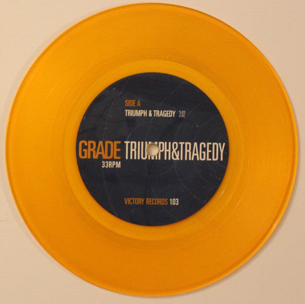 Grade (2) ‎– Triumph And Tragedy – Used 7""