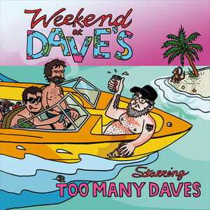 Too Many Daves ‎– Weekend At Dave's [Purple Mix Vinyl] – Used LP