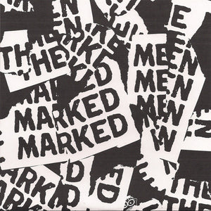 Marked Men / This Is My Fist ‎– split - Used 7""